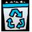 full, trush icon