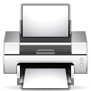 file, document, paper, print, printer icon