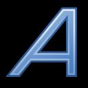 text, italic, format icon