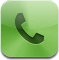 phone, mail, call, fax icon