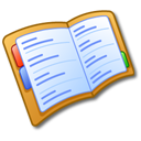 read, address, reading, book icon