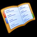 read, address, reading, book icon