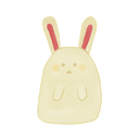 sad, ak, bunny icon