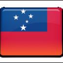 samoa,flag,country icon