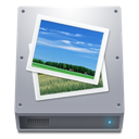 pictures, hdd icon