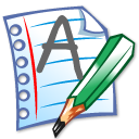 edit, document, write, paper, writing, file icon