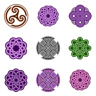 Celtic Knot icon sets preview