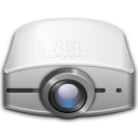 video, projector icon