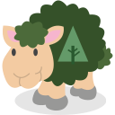 social network, forrst, sheep icon