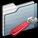developer,folder,graphite icon