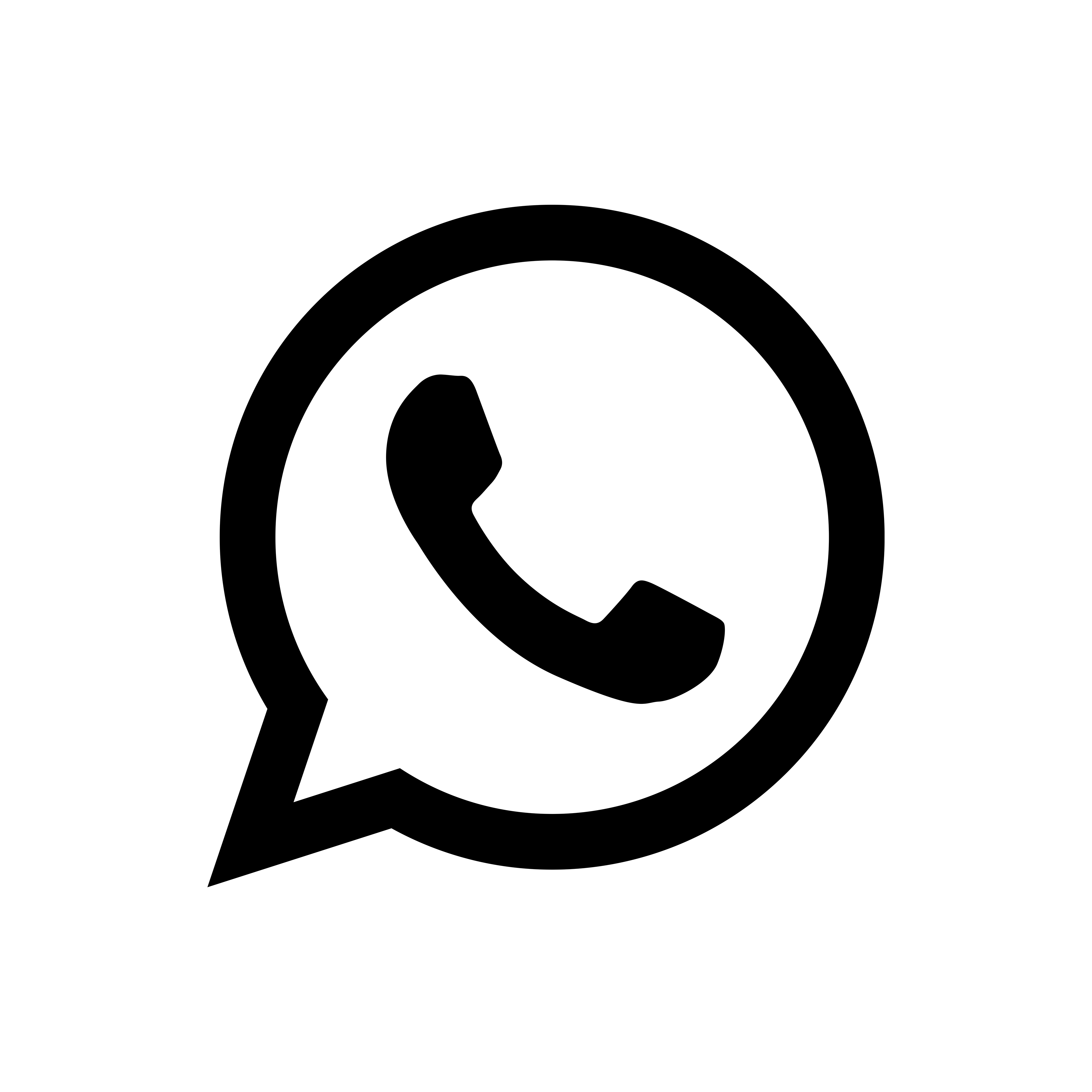 black, whatsapp icon   Simple Icons icon sets   Icon Ninja