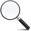 find, zoom, search icon
