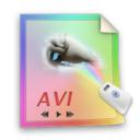 avi,file,video icon
