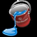 fill, bucket, paint icon