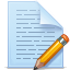 paper, pencil, write, document, file icon