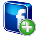 Add, Facebook icon