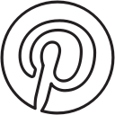 explore, pinterest, pin, media, social, share, board icon
