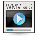 video, ms, wmv icon