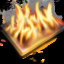 burn,black icon