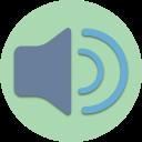 multimedia, audio, speaker, player, sound, microphone, music icon