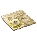 Map, Pirate icon
