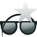 Glasses, Star, Sunglasses icon