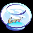 animal, fish, bowl, babelfish icon