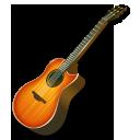 fire guitar icon