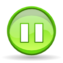 player, pause icon