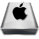 White Apple icon