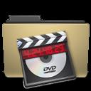 folder, video, manilla icon