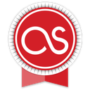lastfm, ribbon icon