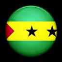 And, Flag, Of, Principe, Sao, Tome icon