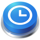 time, perspective, button icon