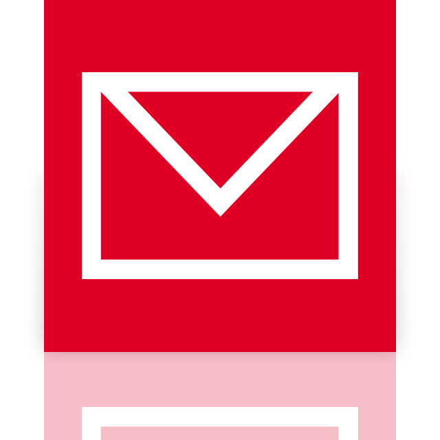 mirror, mail icon