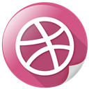 marketing, network, circle, dribbble, sports, arrow icon