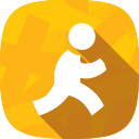 aim, messages, chat, social network icon