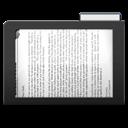Dark, Documents, Folder icon
