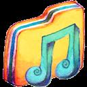 Alt, Folder, Music icon