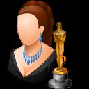 Actor, Female, Light icon