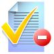 remove, list, paper, todo icon