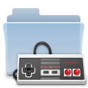 game, badged, folder, gaming icon