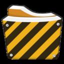 working,folder icon