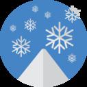 snowflakes snow icon
