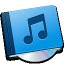 music, book icon