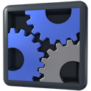 Gears, Panel, Settings icon