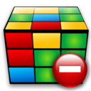 cube,remove,delete icon