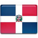 dominicana, flag, dominican, republica, republic icon