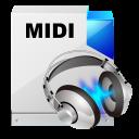 filetype midi icon