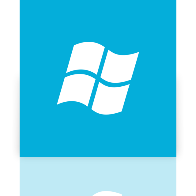 os, mirror, window icon
